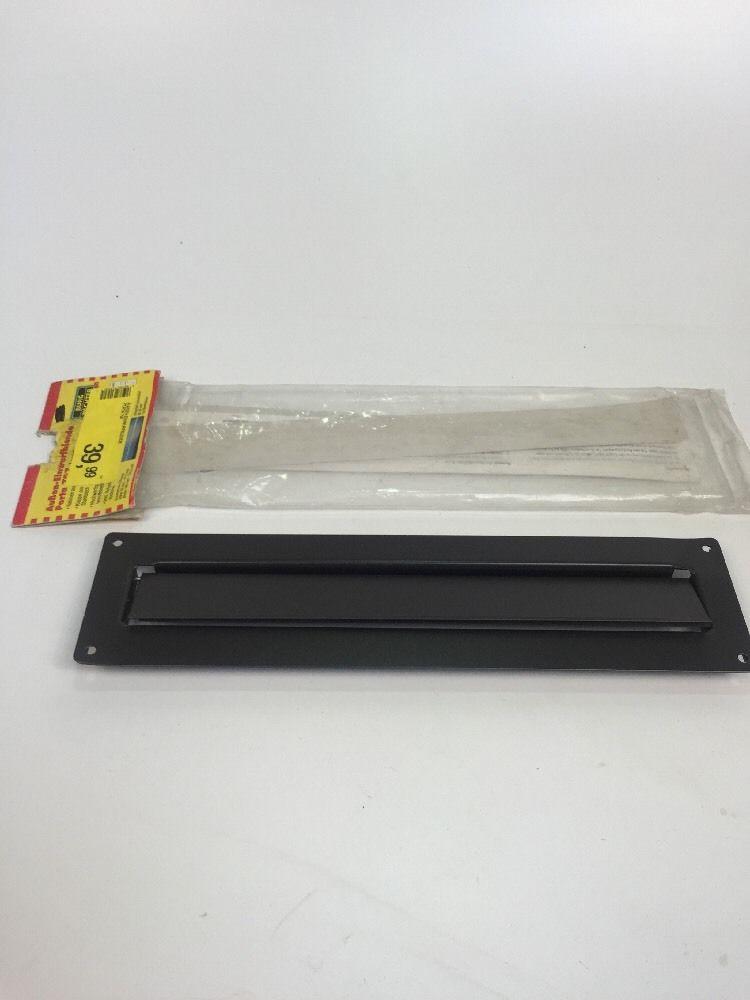 briefkasteneinwurf burg w chter einwurfblende briefkasten 797 schwarz 39 99 ebay. Black Bedroom Furniture Sets. Home Design Ideas