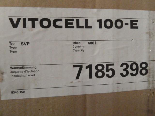 viessmann vitocell 100 e heizwasser pufferspeicher svp 400. Black Bedroom Furniture Sets. Home Design Ideas