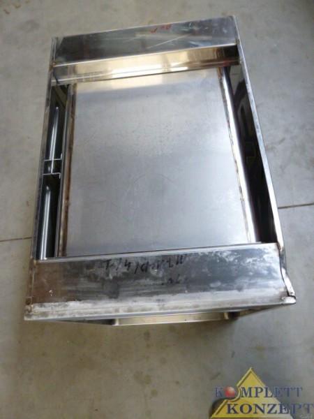 gastro schrank korpus 4 einsch be f r bleche ebay. Black Bedroom Furniture Sets. Home Design Ideas