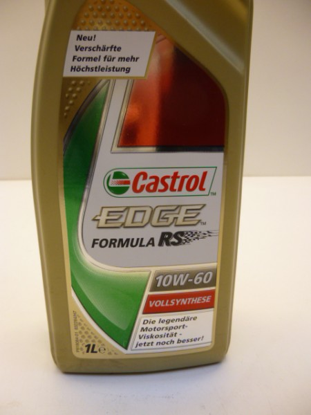 castrol edge motor l l ge 10w 60 1 liter ebay. Black Bedroom Furniture Sets. Home Design Ideas