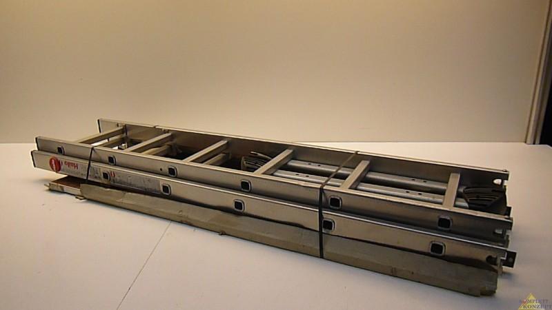 aluminium leiter ger st hailo profistep multi 3teilig ebay. Black Bedroom Furniture Sets. Home Design Ideas