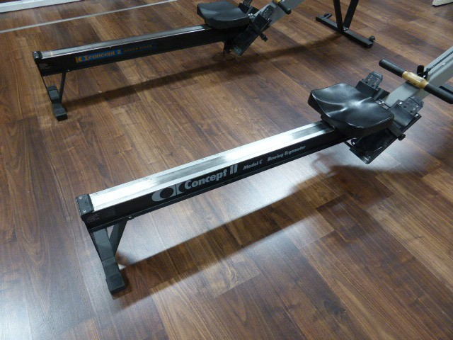 concept 2 modell c indoor rower ruderergometer ruderger t ebay. Black Bedroom Furniture Sets. Home Design Ideas